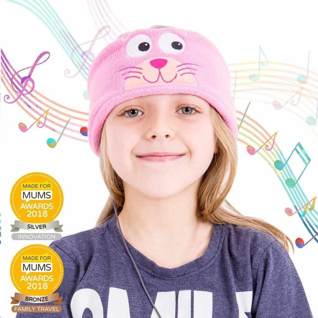 Sluchátka s čelenkou pro děti